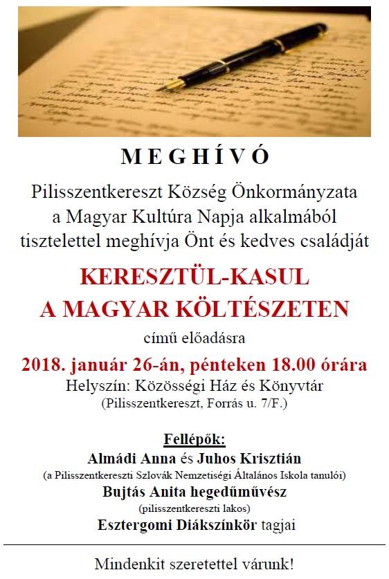 Magyar Kultúra Napja 2018