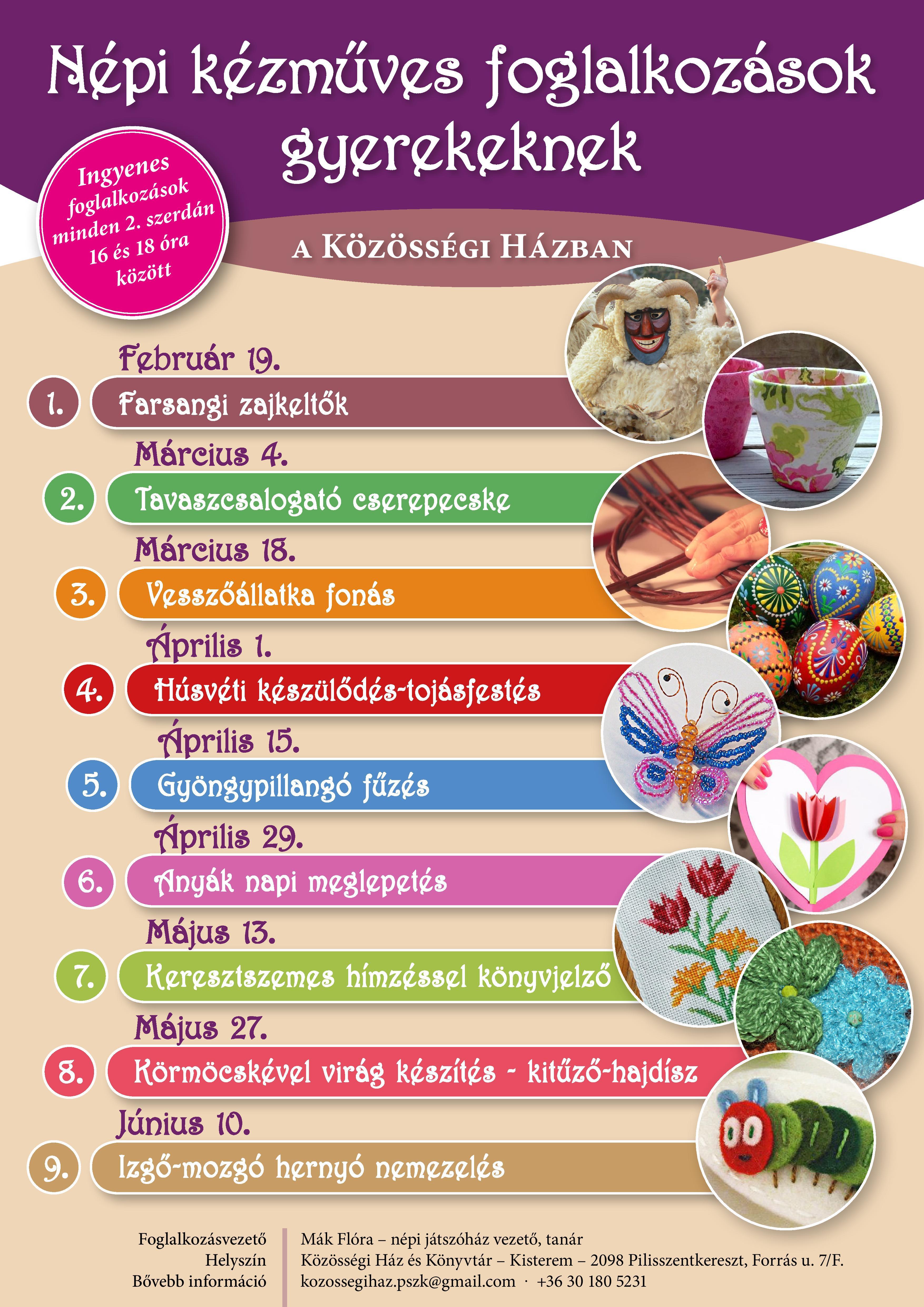 Kézműves plakát 2020